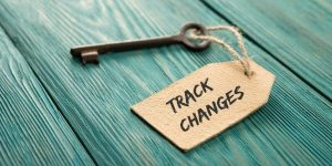 Proofreading Word Track Changes